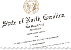 Strawberry Month Proclamation